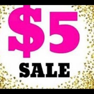 $5 Clearance markdowns Now!!!!